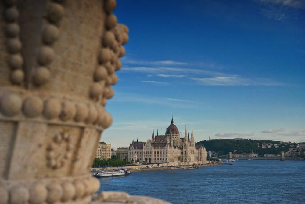 Hungarian Parliament View from Margaret Bridge | Local Experiences in Budapest, Hungary | Europe Travel