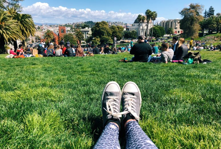 March | Yearly Wrap Up 2018 | Dolores Park, San Francisco