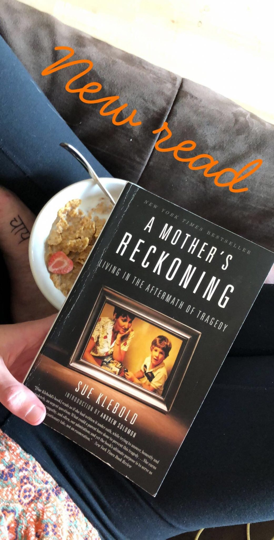 Wrap Up: March 2018 | A Mother's Reckoning by Sue Klebold