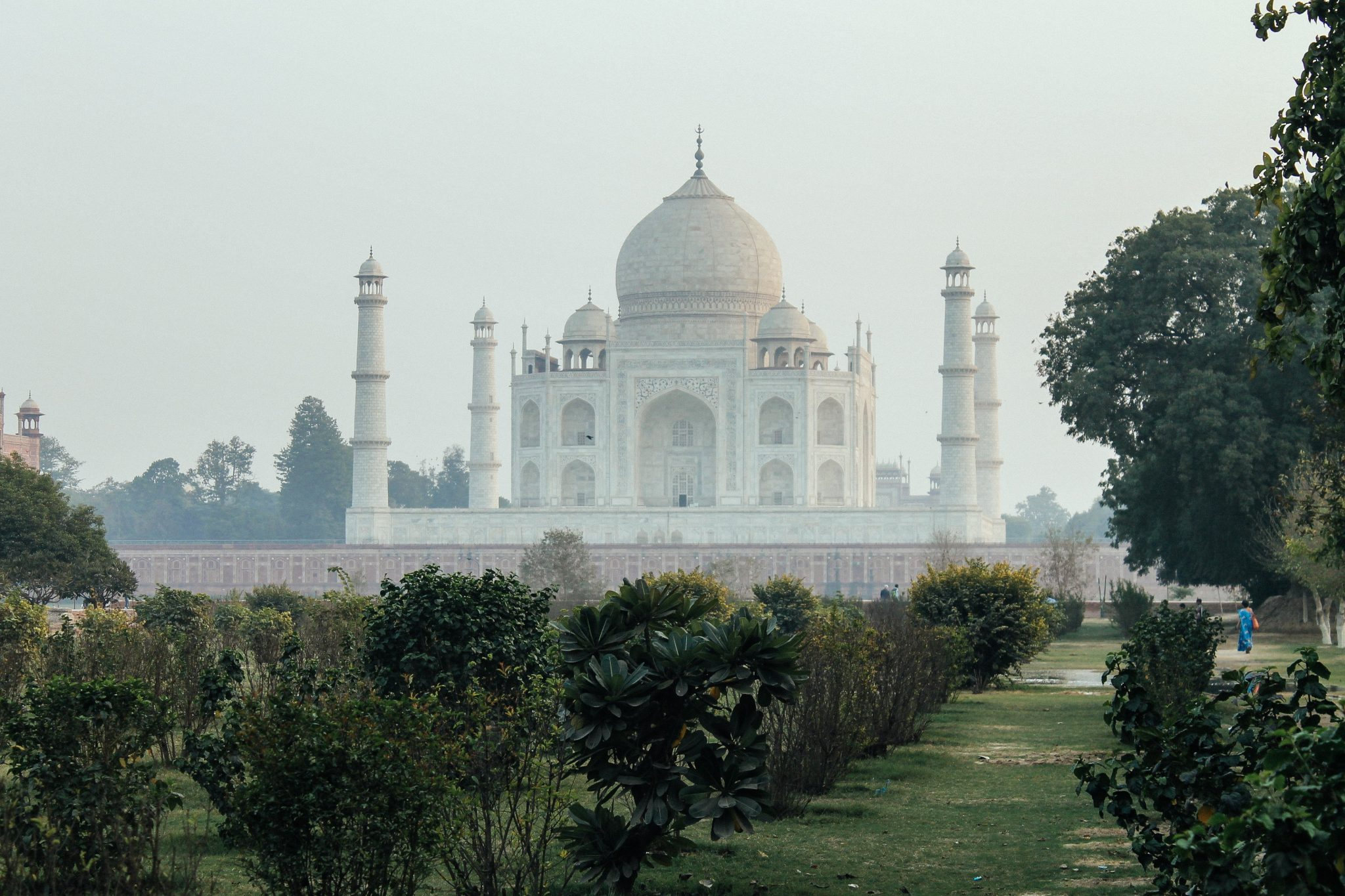 View of the Taj Mahal from Mehtab Bagh  | Agra, India