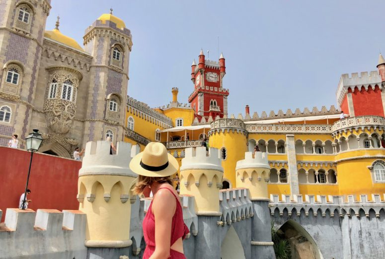 Wrap Up: August 2018 | Pena Palace, Sintra, Portugal | The Atlas Heart