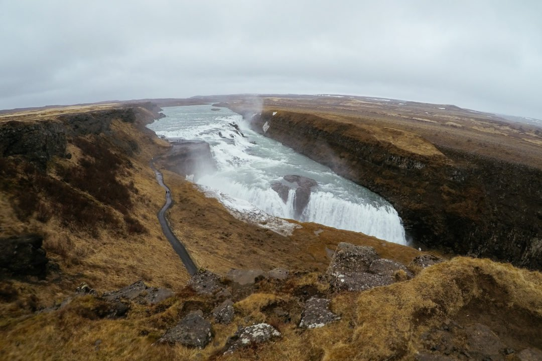 Gullfoss Waterfall | Golden Circle Tour Itinerary | Self Drive Iceland