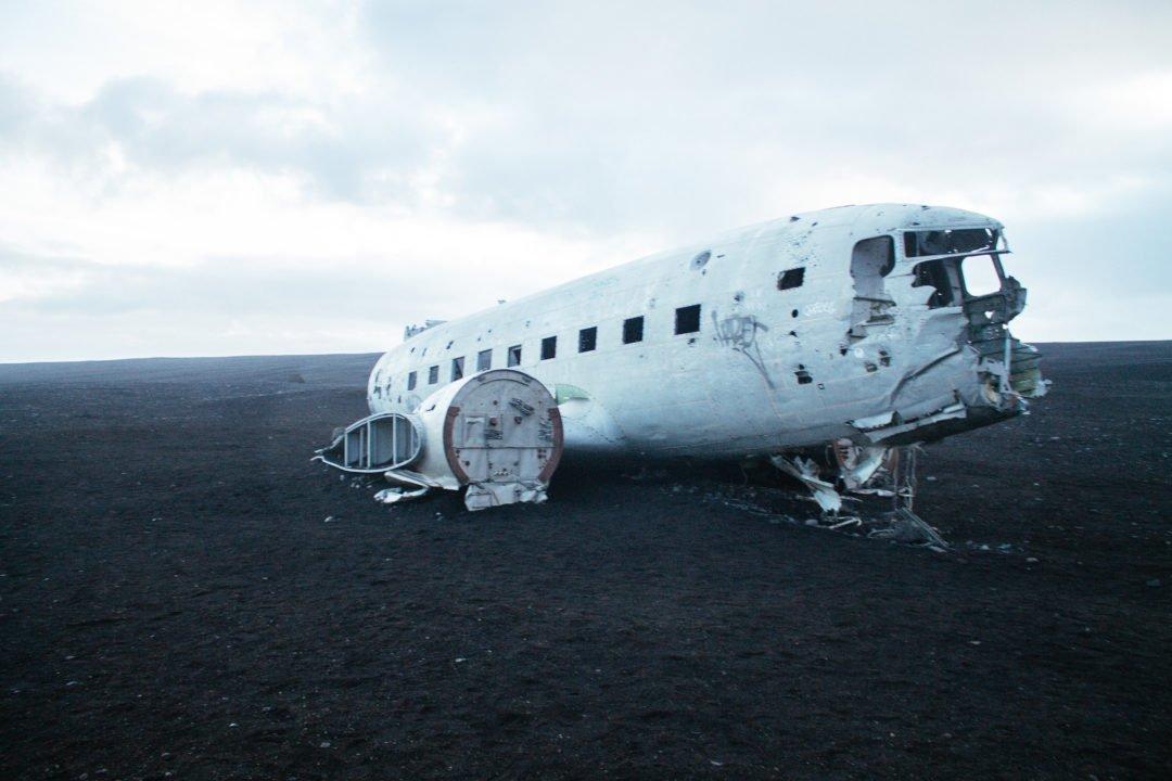 Sólheimasandur Plane Wreck | Iceland Itinerary 5 days