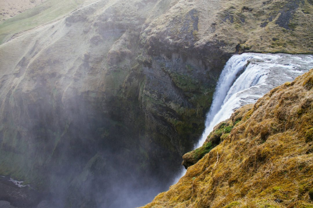 Skógafoss Waterfall - Iceland Ring Road Itinerary