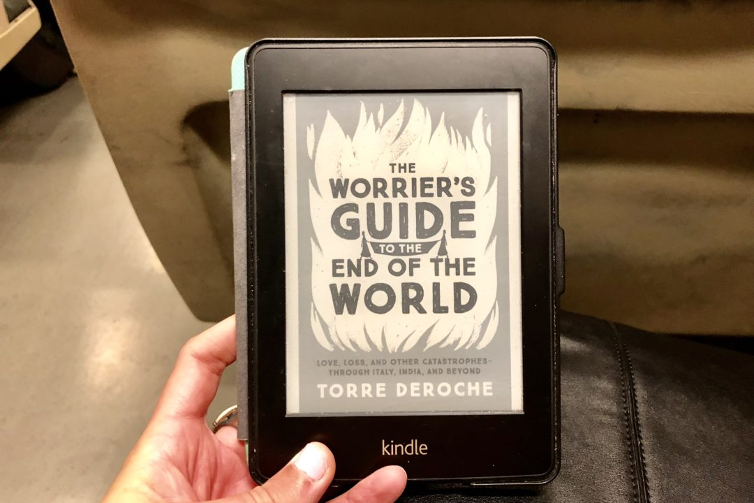Wrap Up: September 2018 | San Francisco, California | The Worrier's Guide to the End of the World by Torre DeRoche | Reads