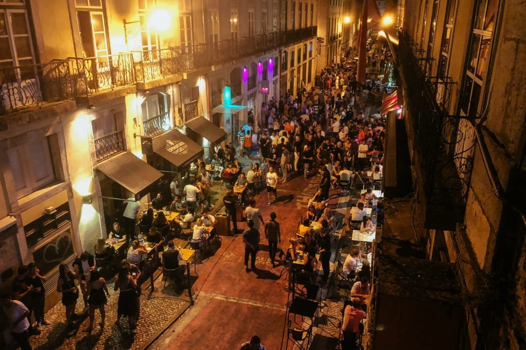 Drug dealers around Pink Street in Lisbon, | Cities to visit in Portugal