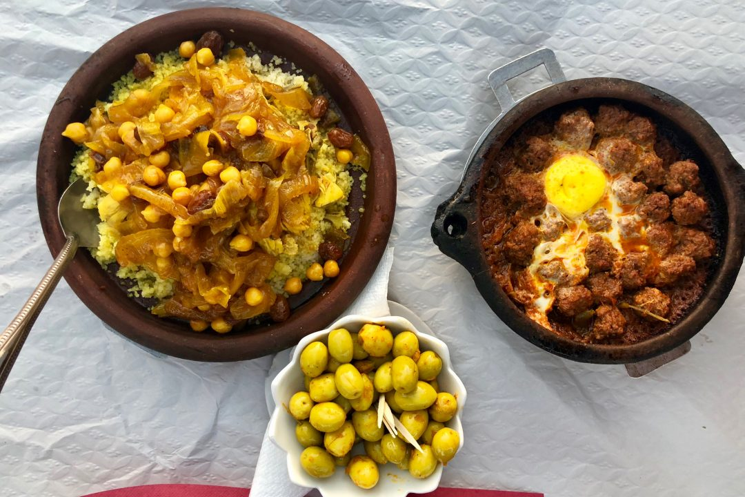 Things to do in Morocco? Eat kefta tagine.