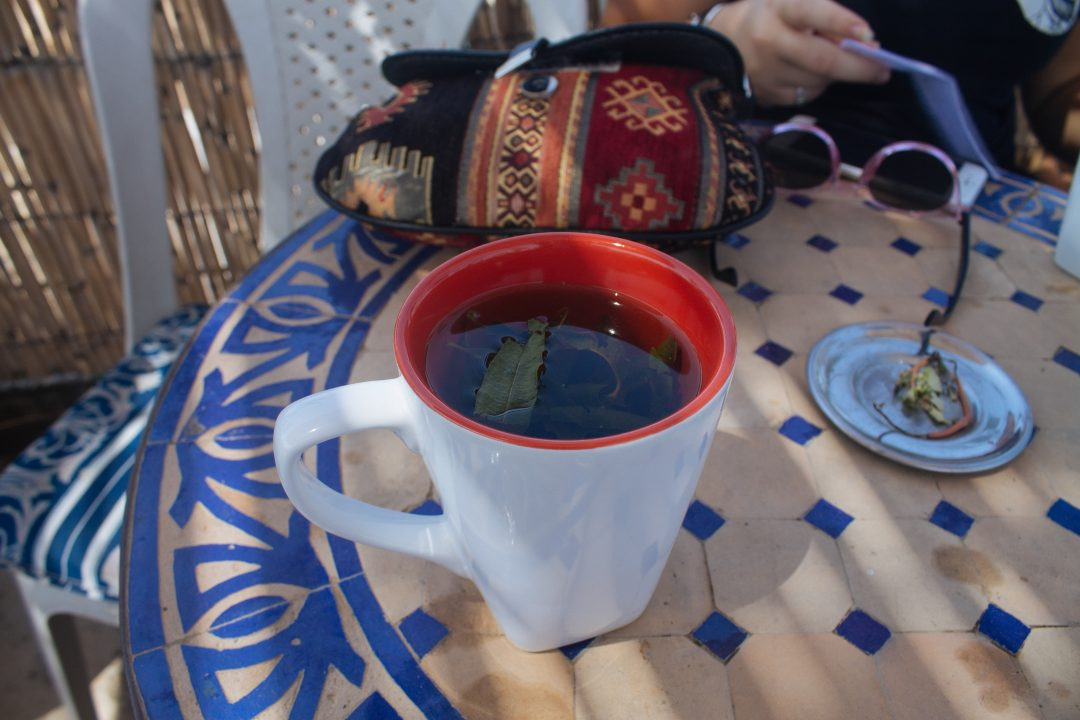 Alcohol in Morocco - drink Moroccan green tea instead