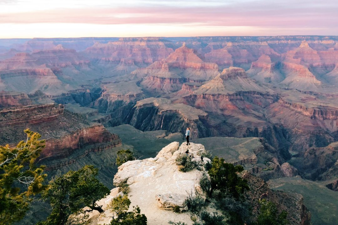 Grand Canyon Sunset, Arizona Road Trip
