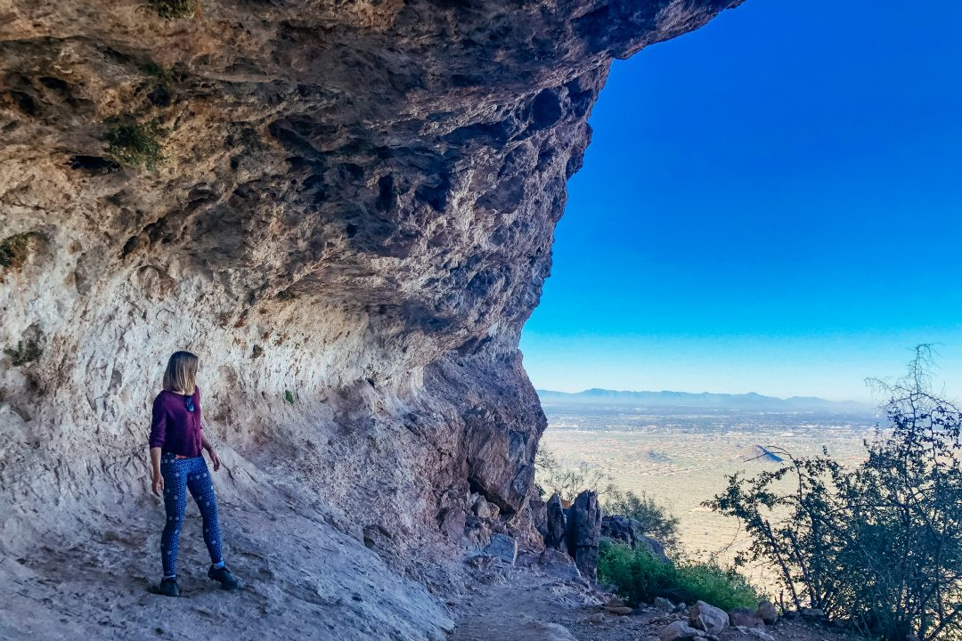 Hiking near Mesa AZ | Wind Cave Trail