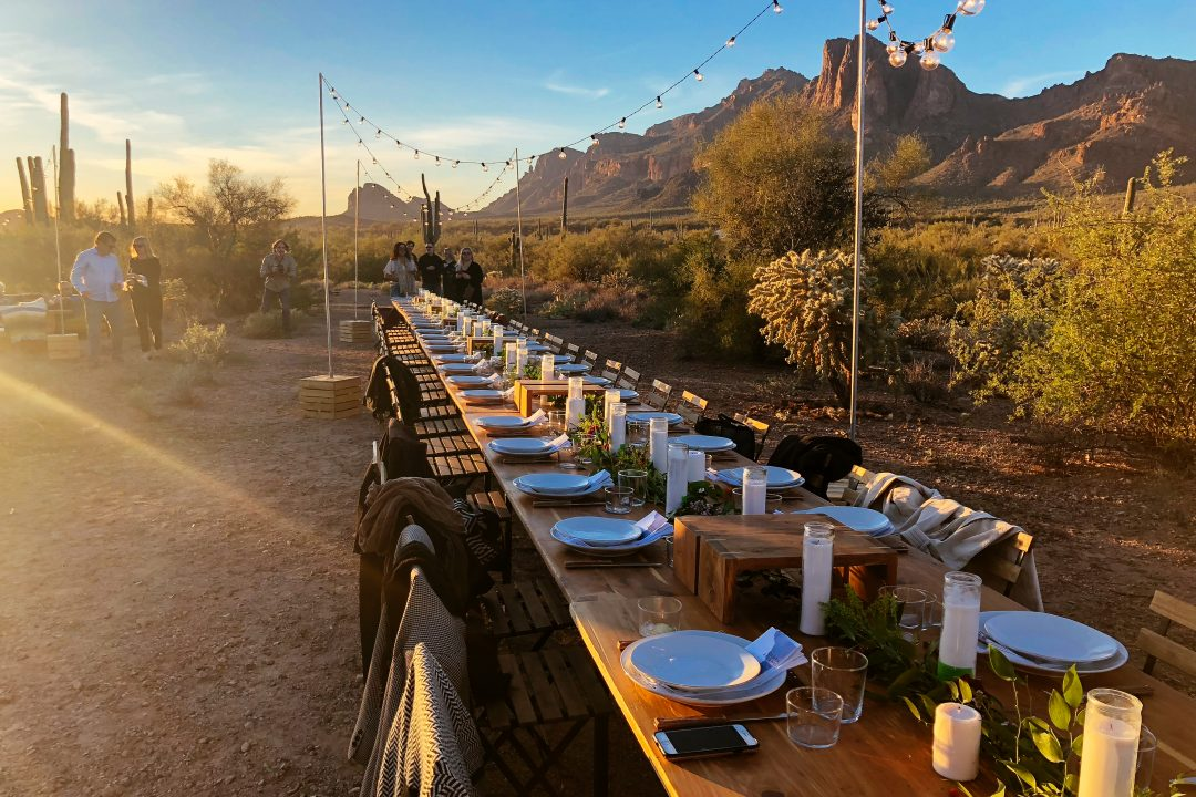 Mesa Events | Cloth & Flame Dinner