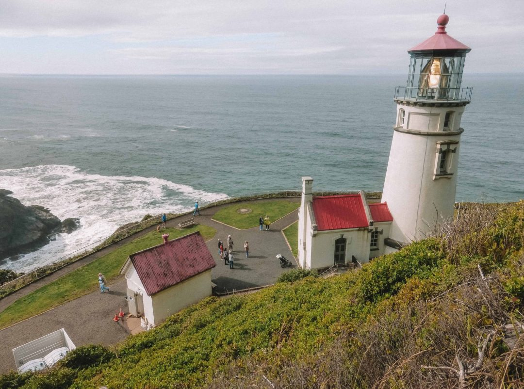 how long do you need for an oregon coast road trip - Heceta Head Lighthouse