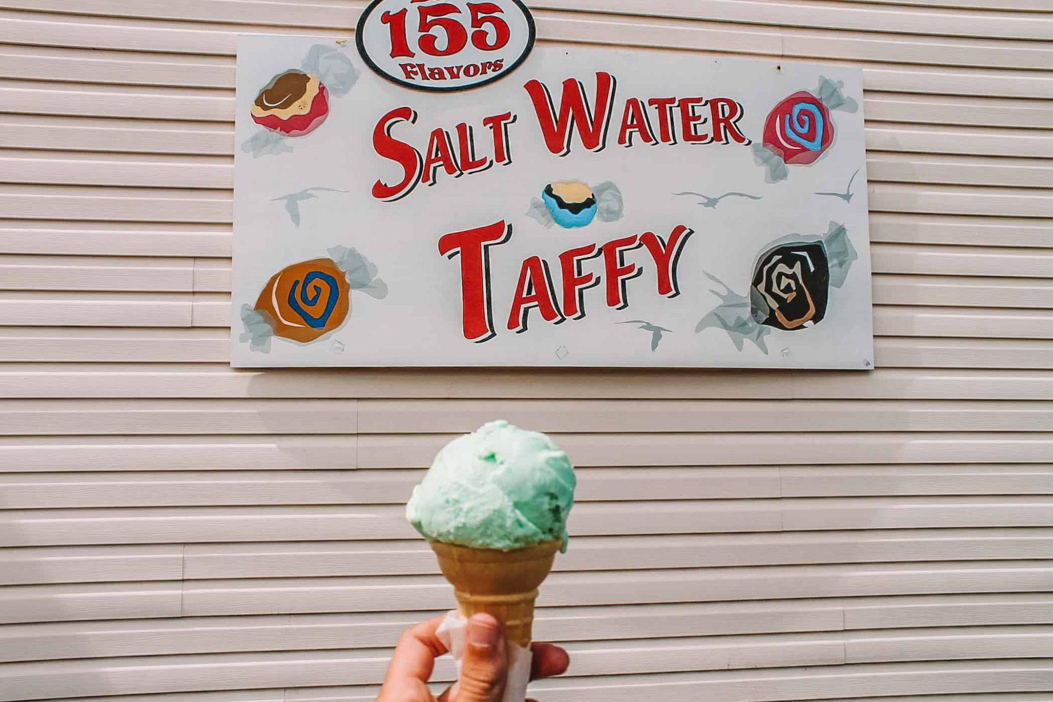 Ice cream in Florence, Oregon