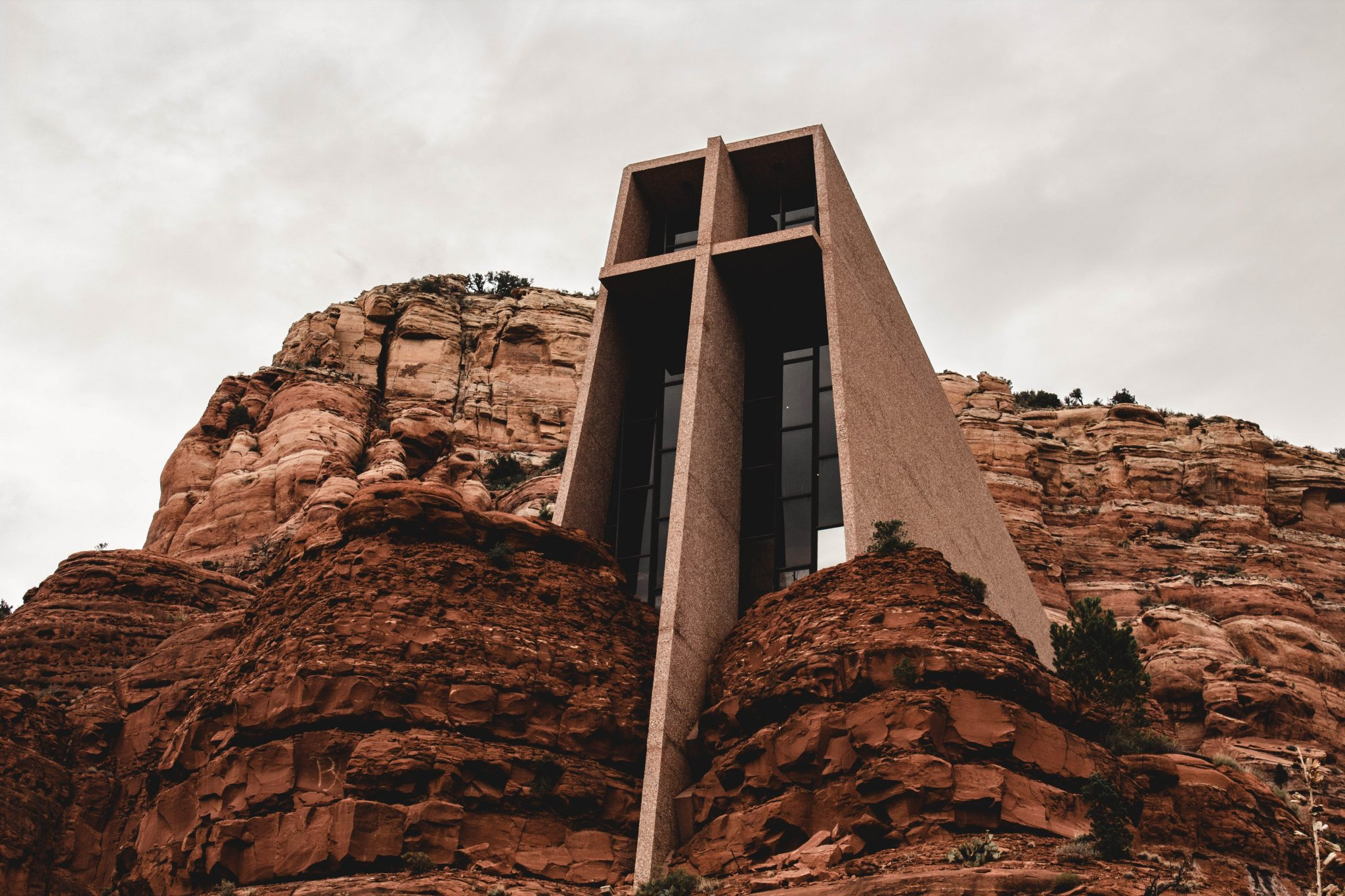 Scenic Drives in Arizona - Chapel of the Holy Cross in Sedona
