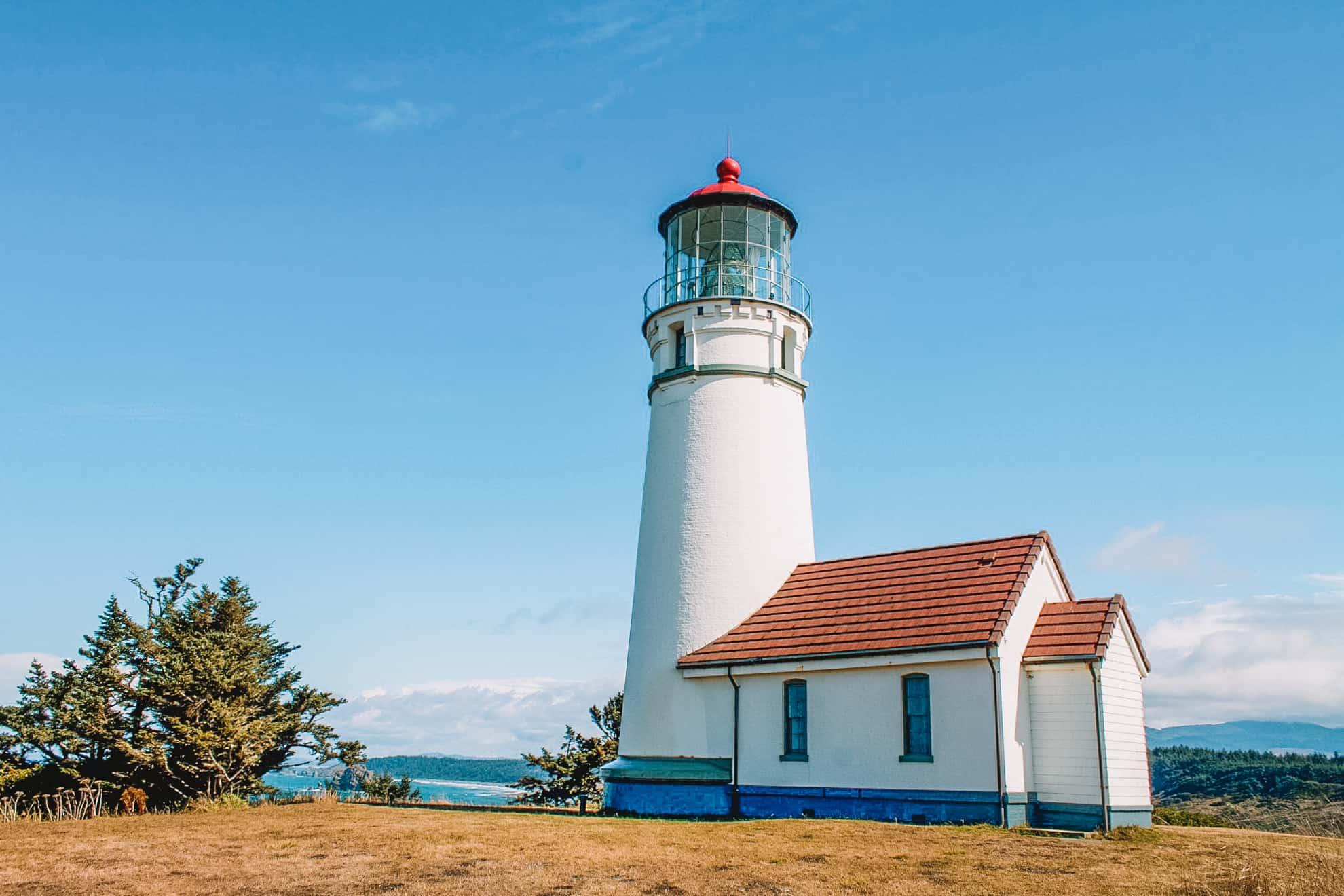 Cape Blanco Lighthouse - Oregon Coast