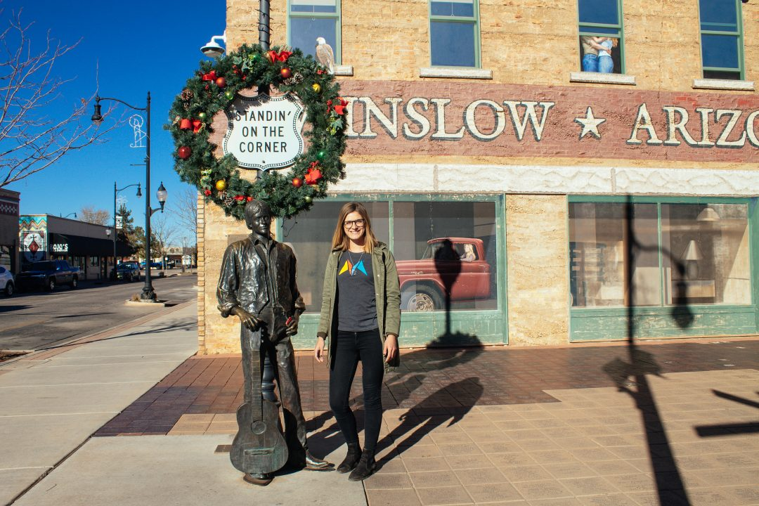 Arizona Trip Planner | Standin' on the Corner in Winslow, Arizona