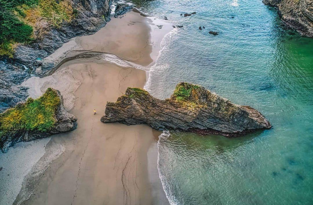 brookings, oregon - secret beach