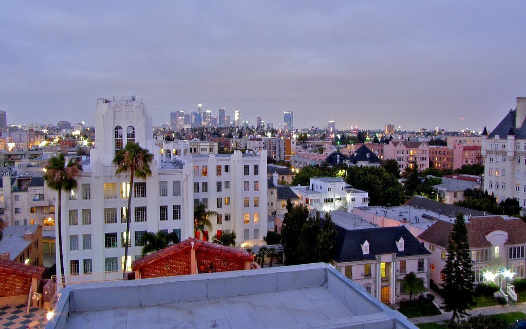 Koreatown - places to stay in los angeles