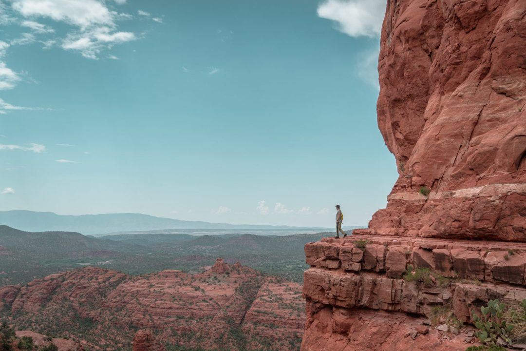sedona hiking trails - cathedral rock