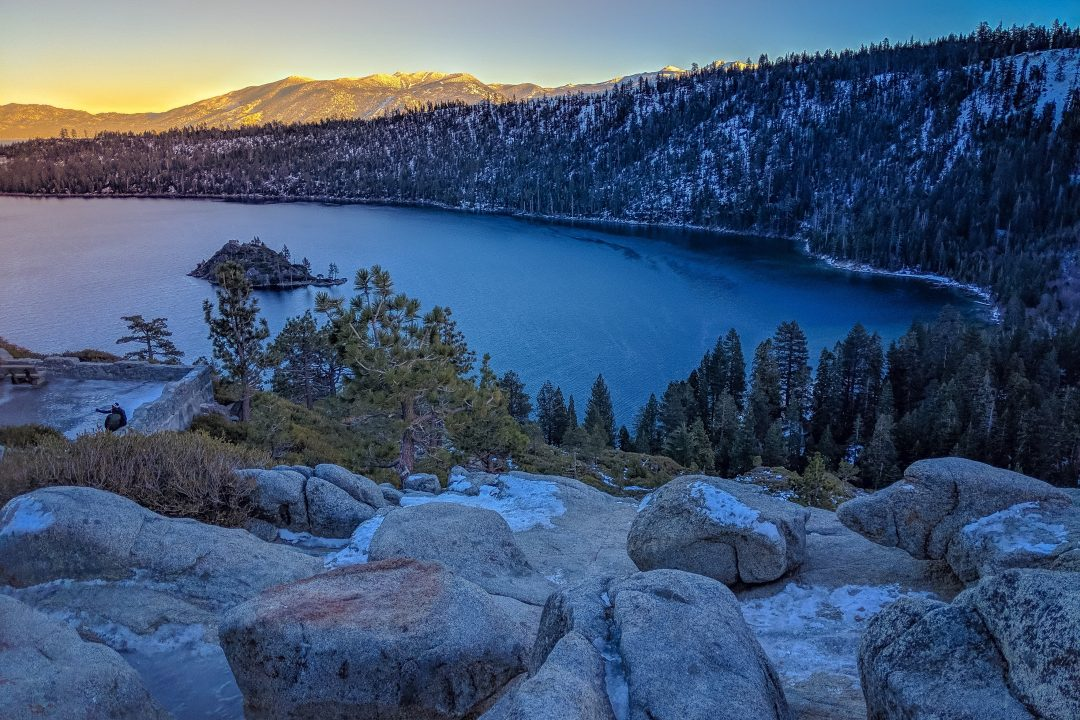 What to do in Lake Tahoe in summer - hike to Emerald Bay