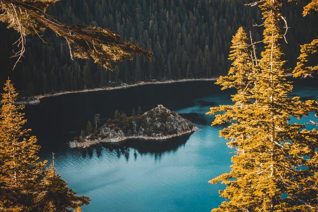 Lake Tahoe summer- Fanette Island