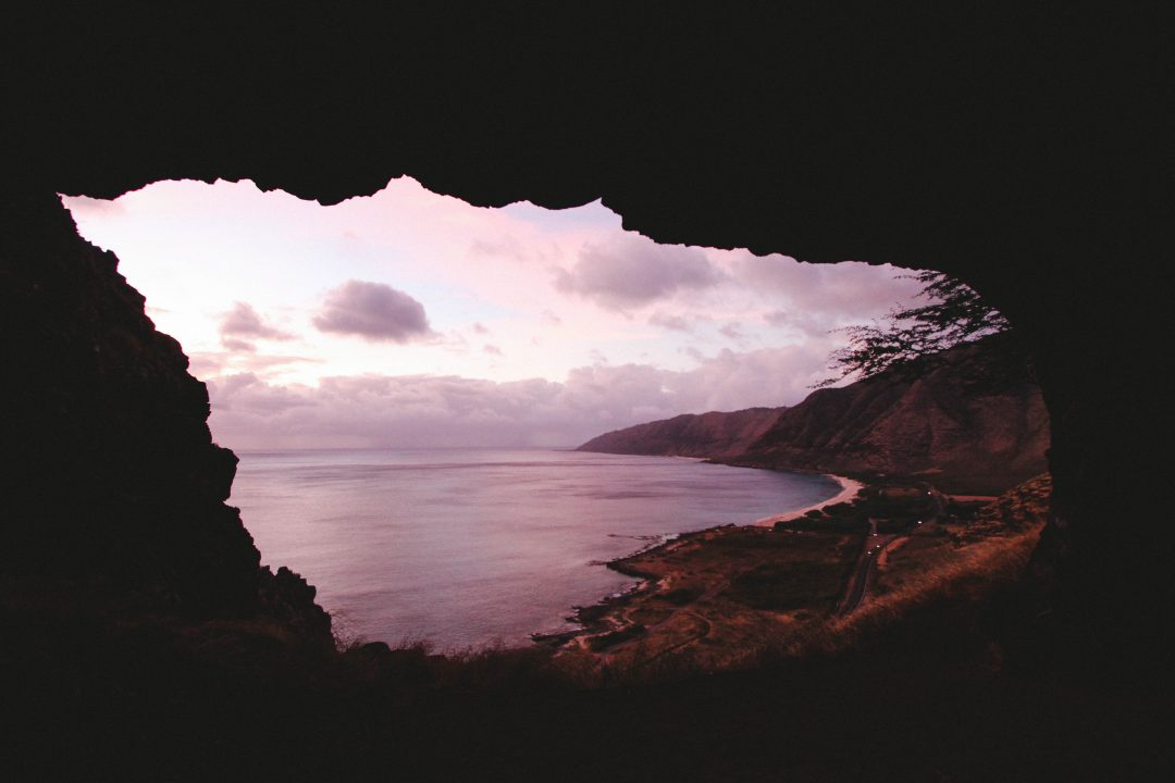 Makua Cave - best hikes on Oahu
