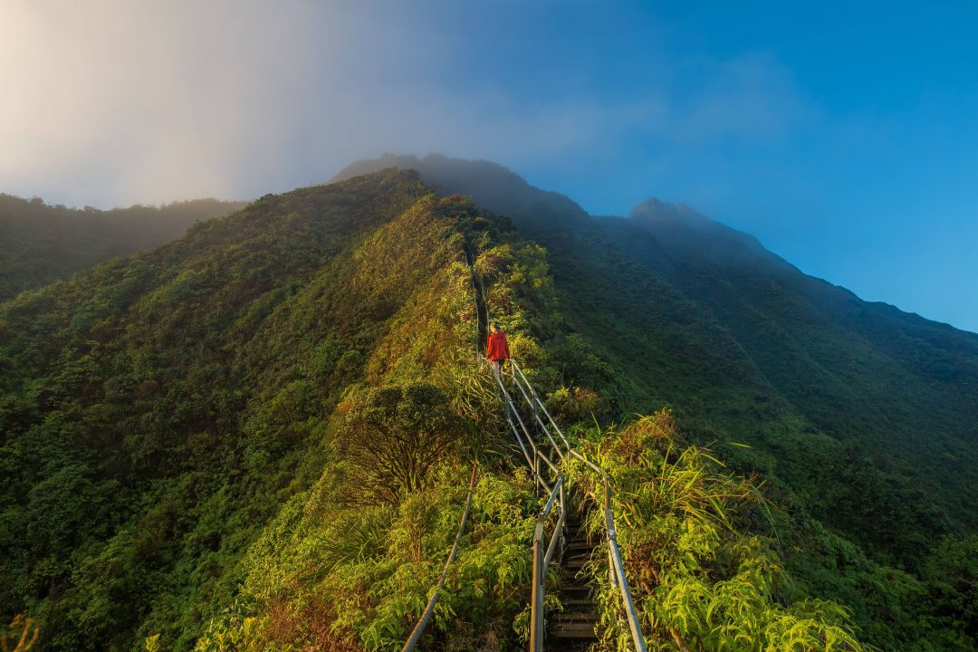 Haiku Stairs: Stairway to Heaven Hike