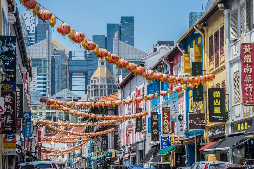 Chinatown- where to stay in Singapore