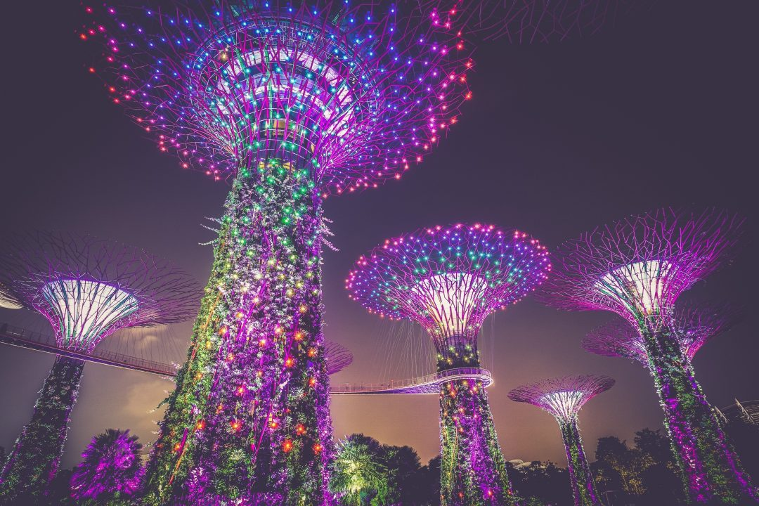singapore tourist spots - gardens by the bay