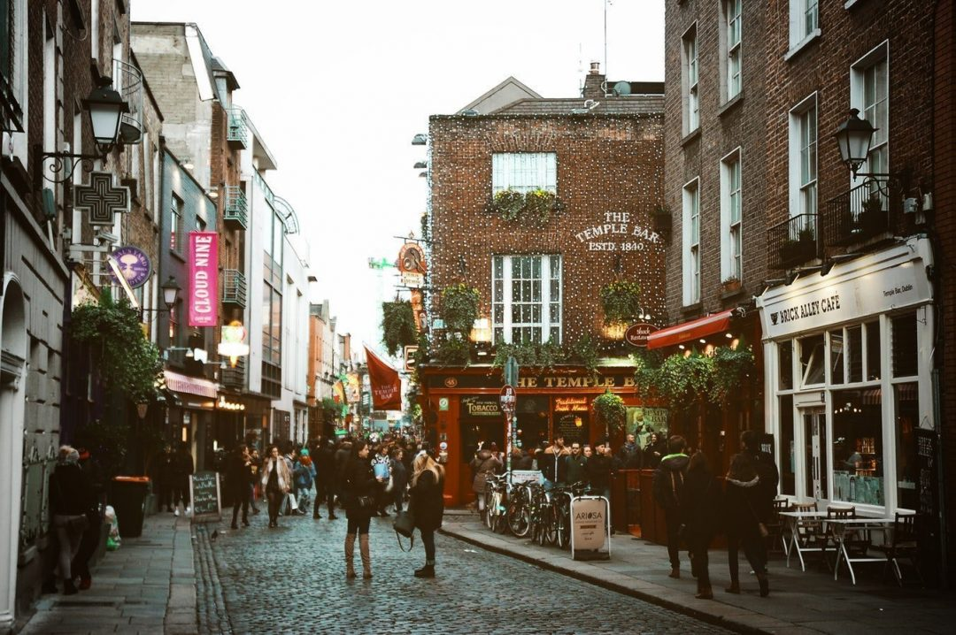 Temple Bar area - where to stay in Dublin