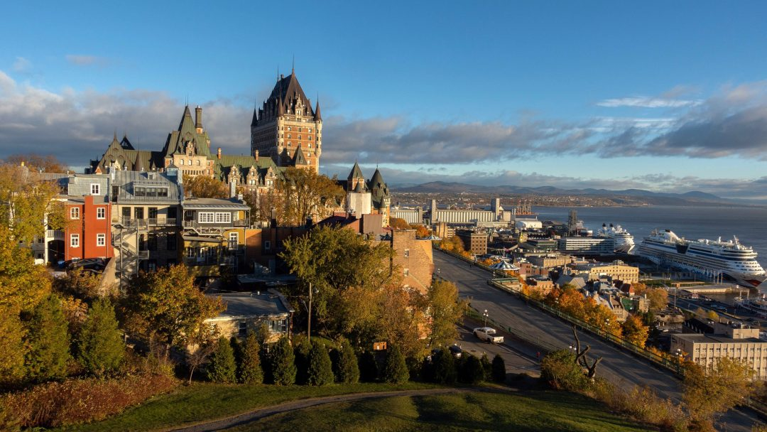 day trips from Montreal - Quebec City