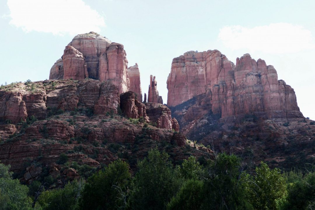 best hiking trails in sedona - red rock crossing