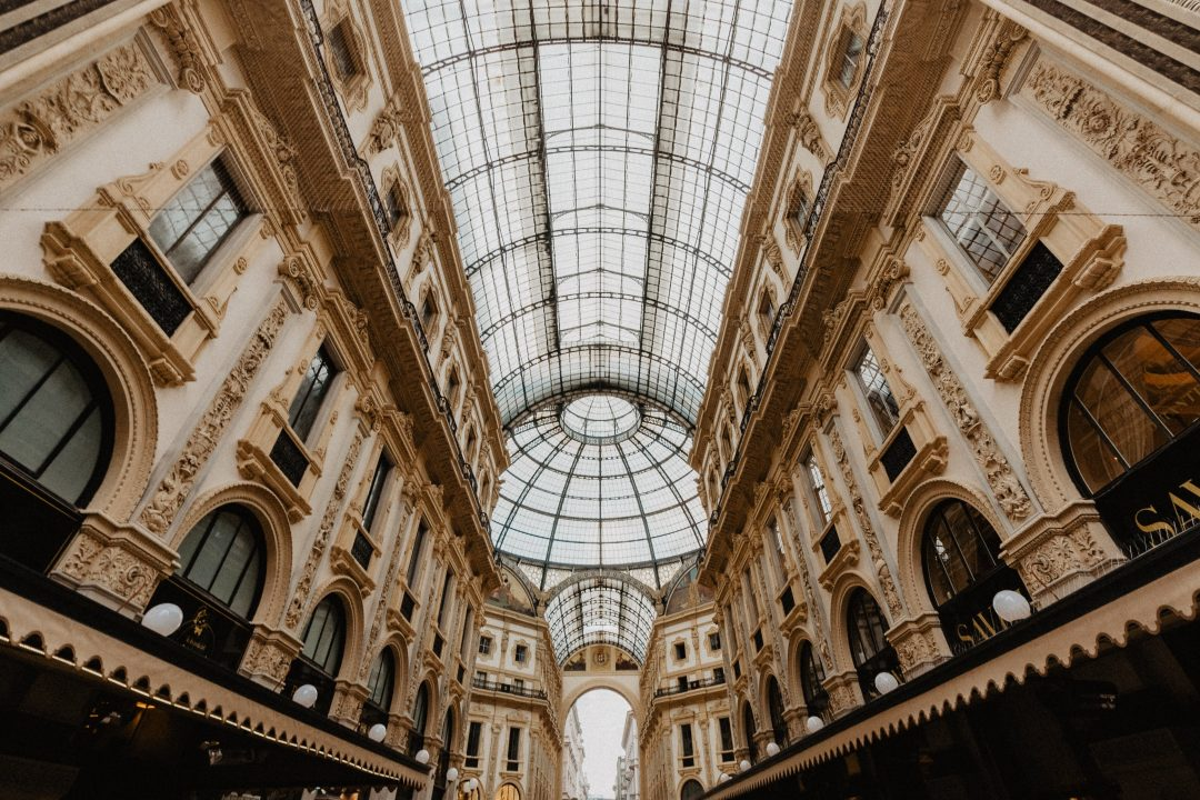 milan attractions - galleria vittorio