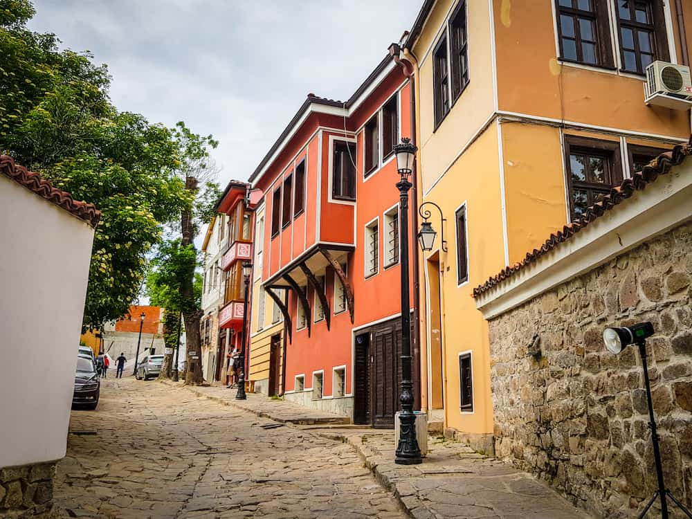plovdid old town - the balkans