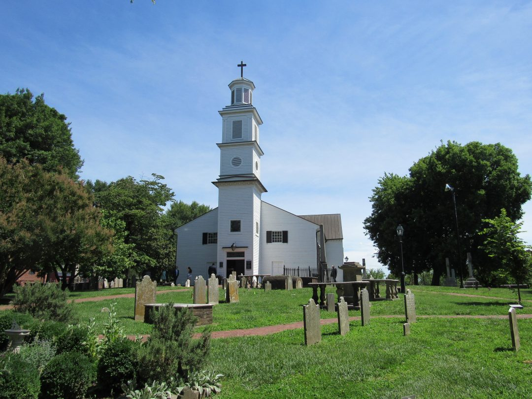 richmond attractions - st johns church