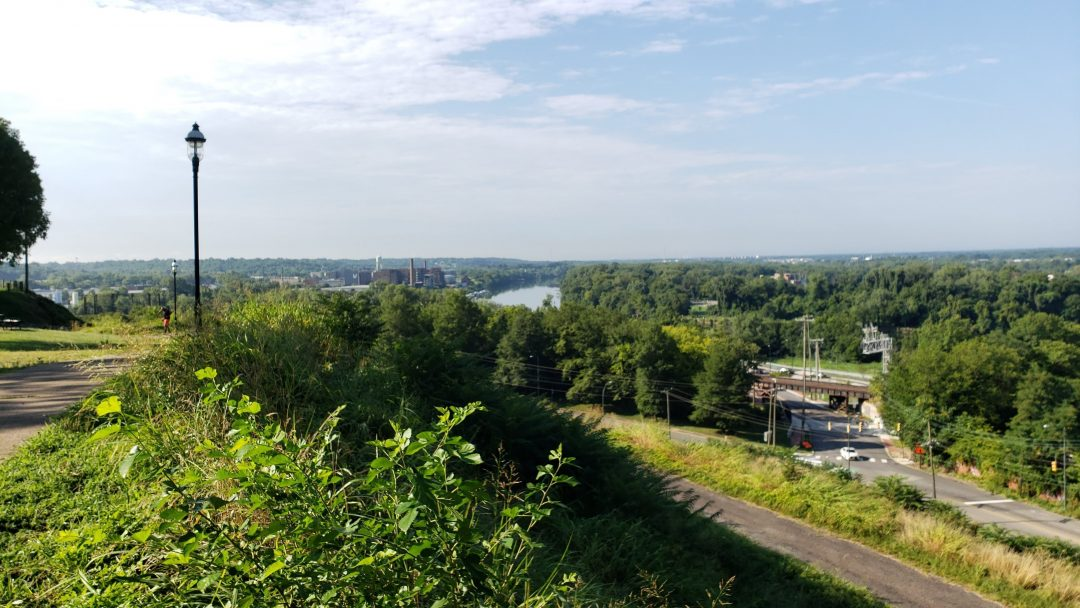 Free things to do in Richmond - view from libby hill park