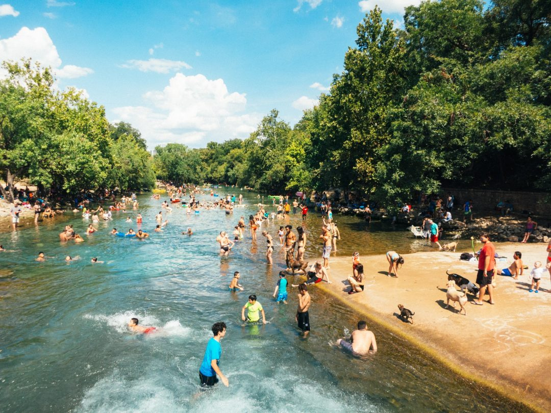austin attractions - barton springs