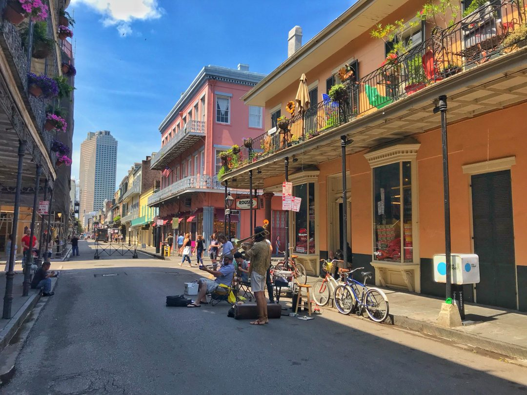 hotels in french quarter, new orleans - bourbon street