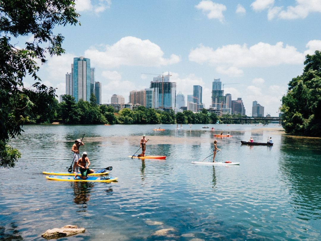 what to do in austin - lady bird lake
