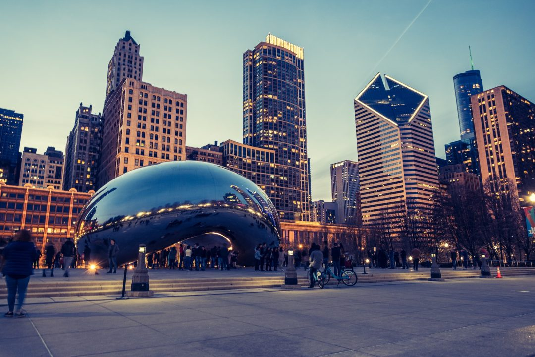 best things to do in chicago - cloud gate aka The Bean