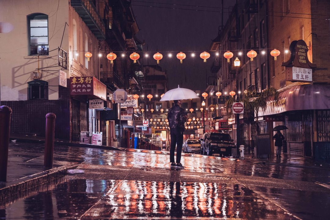 places to visit in bay area - San Francisco chinatown at night