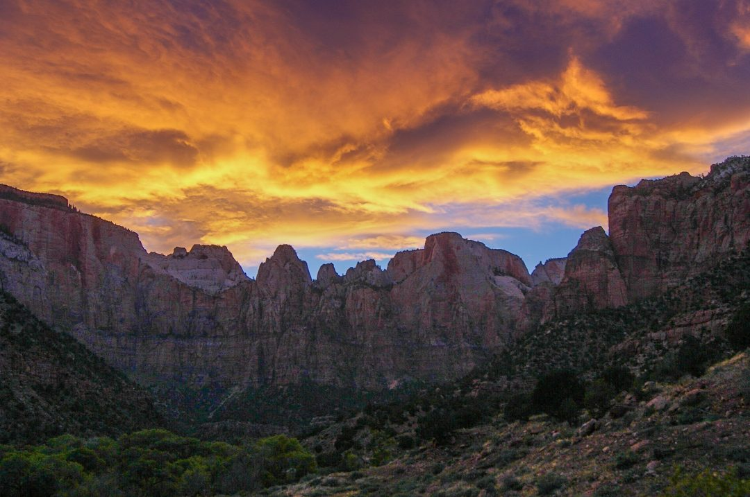 best time to visit utah national parks in the fall