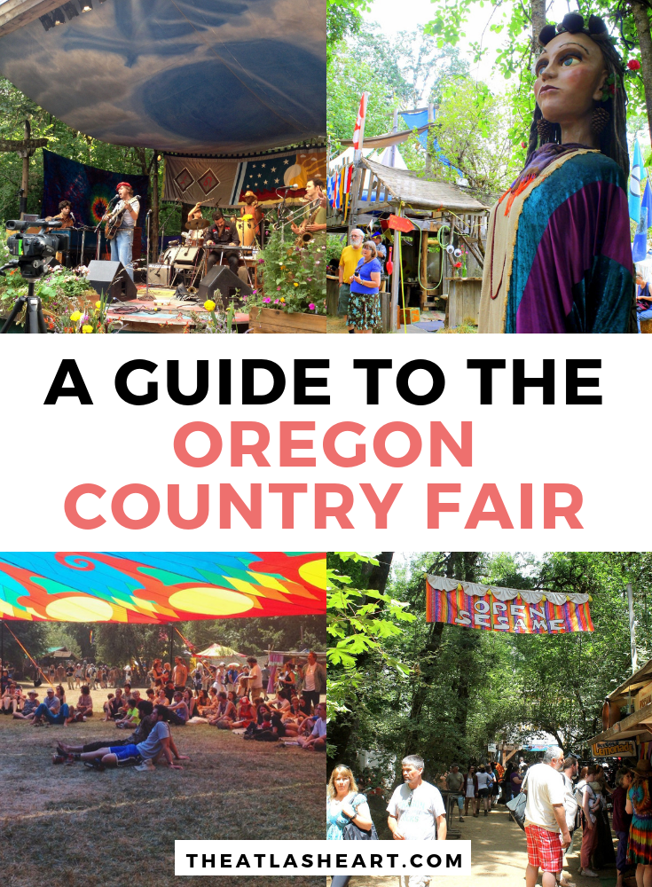 A complete guide to the Oregon Country Fair so you know what to expect, what to enjoy, and where to stay during this hippie festival in Veneta, Oregon.  #Oregon #PacificNorthwest #USATravel #Festivals