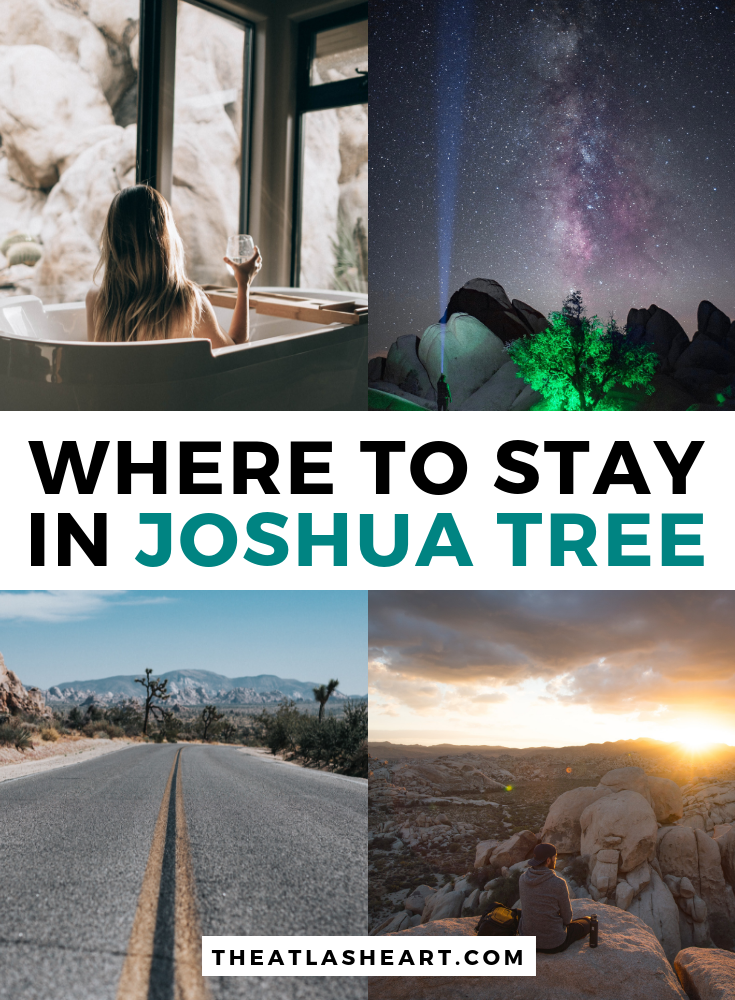 where to stay in joshua tree national park, california