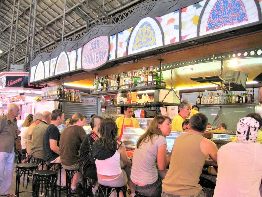 what to do in barcelona - boqueria market