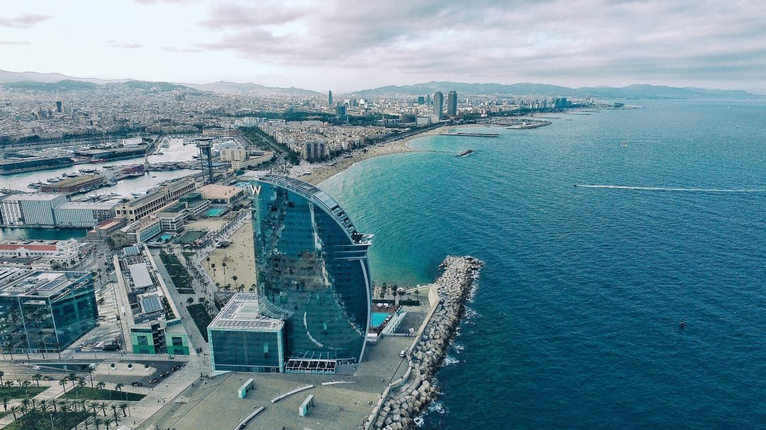 best hotels in barcelona - the W in Barceloneta