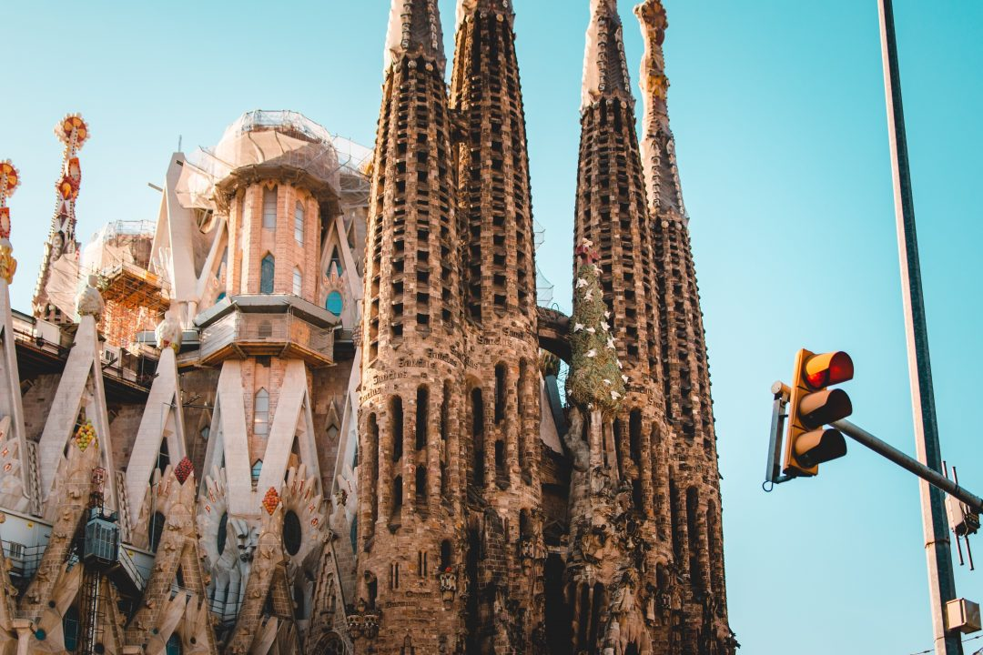 barcelona attractions - la sagrada familia basilica