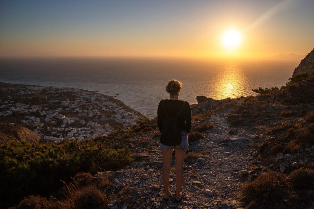 Kamari - where to stay in Santorini