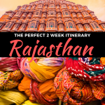 2 Weeks in India - Rajasthan Itinerary