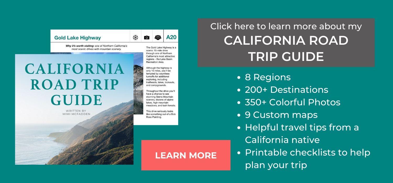 California road trip E-Book